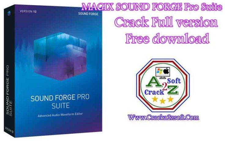 MAGIX SOUND FORGE Pro Suite Crack