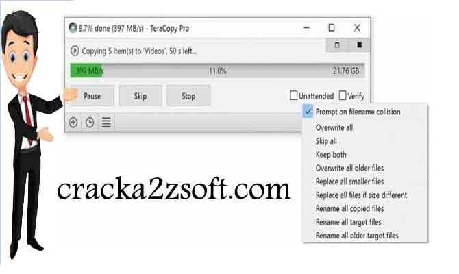 TeraCopy Pro crack key