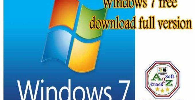 Windows 7 download free full version
