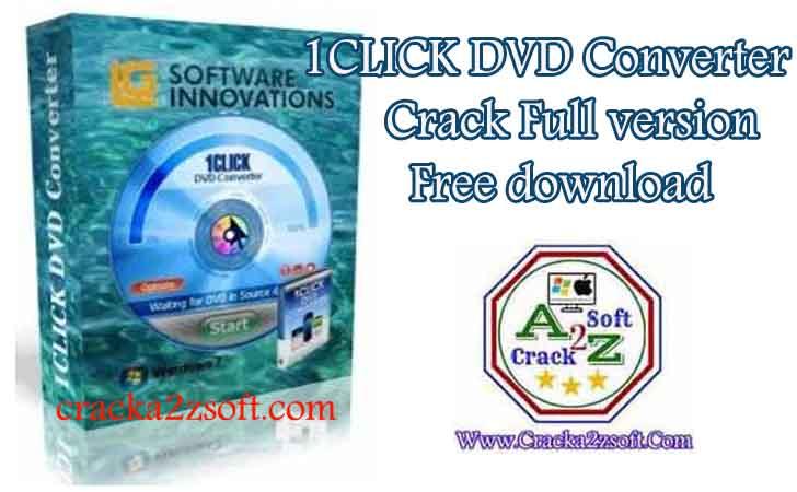 1CLICK DVD Converter free download crack 2020