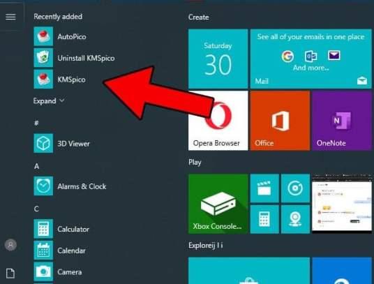 KMSPico Windows 10 Activator how to active