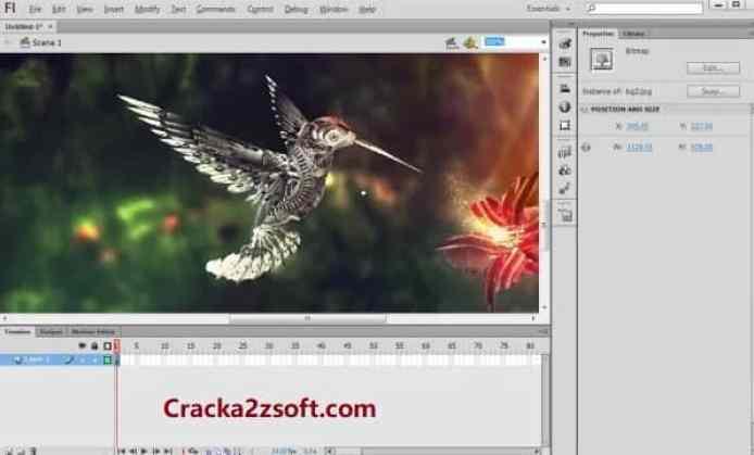Adobe Flash Professional CC 2021 Crack screenshot