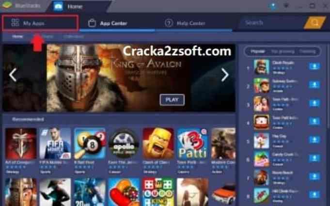 BlueStacks 5 Crack 2021 screen