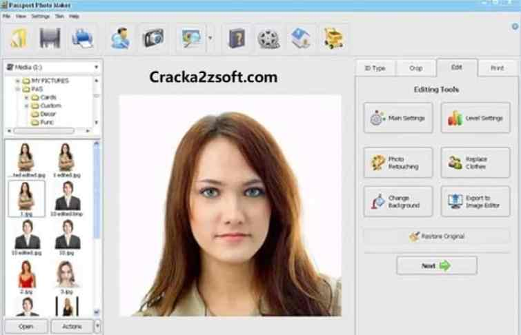 Passport Photo Maker Crack screenshot