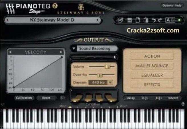 Pianoteq 7 Pro Crack 2021 screenshot