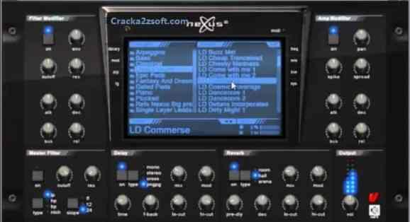 ReFX Nexus Crack 2021 screenshot