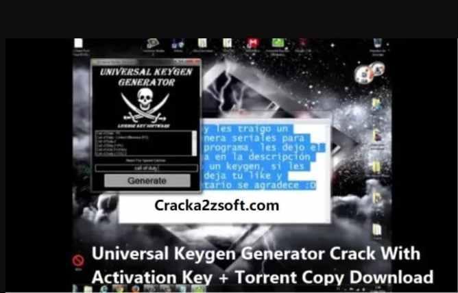 Universal Keygen Generator 2021 Crack screenshot