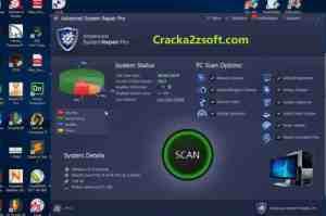 Advanced System Repair Pro crack screenshot