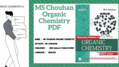MS chauhan organic chemistry PDF free download