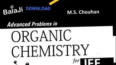 MS Chauhan Organic Chemistry PDF download
