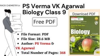 PS Verma VK Agarwal Class 9 Biology, PS Verma VK Agarwal Class 9 Biology PDF