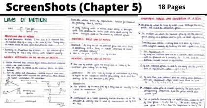 laws of motion class 11 formulas pdf