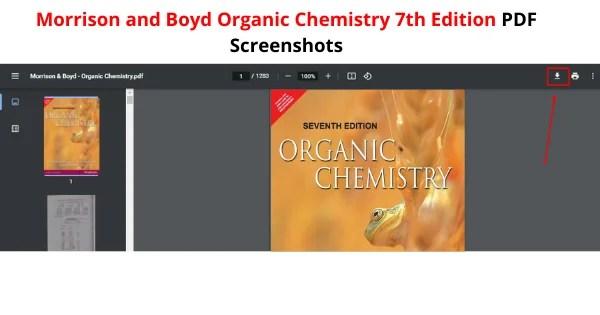 Morrison And Boyd Organic Chemistry 7th Edition PDF