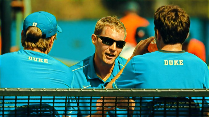 56316c19a3dd1 Parsa s interview this week is with the Duke University Men s Tennis Head  Coach Ramsey Smith. Coach Smith was a former player for Duke