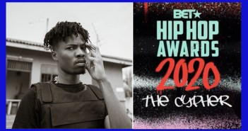Kwesi Arthur represents Ghana at this year's BET Hip-Hop Awards Cypher