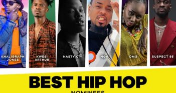 Kwesi Arthur has been nominated for MTV Best Hip Hop Artiste of the year 2020