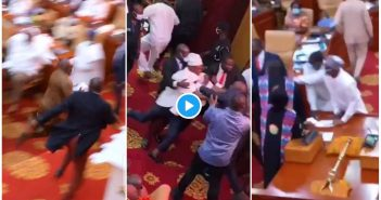 Watch How Carlos Ahenkorah snatched the ballot papers [Watch Video]