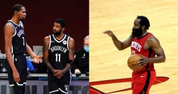 Report: Nets now willing to offer 'anyone' except Kevin Durant in James Harden trade