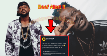 We Won't Hype Any Underground Artiste Again; Go Look For Patapaa - Shatta Wale drags Yaa Pono (+Screenshots)