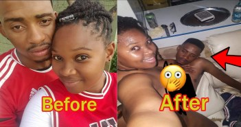 Man Cries For Help As Slay Queen Ch0ps Him Almost To D3ath [Watch Video]