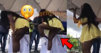 Jamaican Dancehall Artiste Removes Her P@nt Live On Stage [Watch Video]