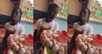young male egg seller
