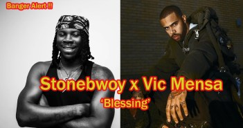 "Stonebwoy Taps American Rapper, Vic Mensa On His Second Single ""Blessing"""