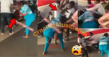 Woman Fights Her Husband's Side Chic At A Restaurant