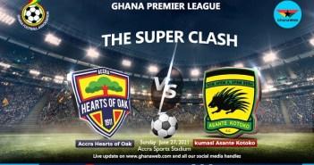 Hearts Of Oak Vs Asante Kotoko [Free Live Stream] | WATCH HD
