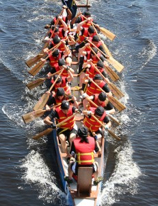How does IT and Computer Support in Berkshire look dragon boat racing