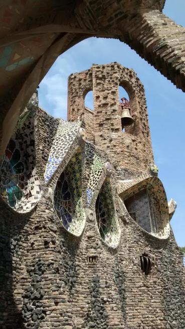 Cracking Retirement Travels 2016 - Barcelona Colonia Guell