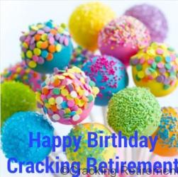 Cracking Retirement Birthday 2