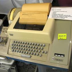 cracking retirement - teleprinter