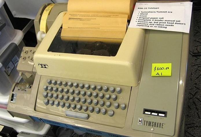 cracking retirement - teleprinter