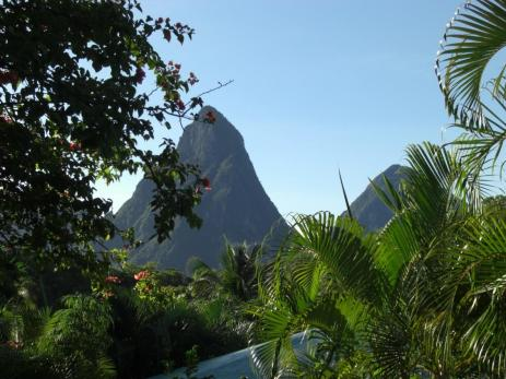 Cracking REtirement Pitons St Lucia