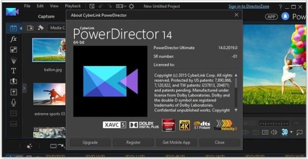 CyberLink PowerDirector 14 Ultimate Full Cracked Plus Keygen Free