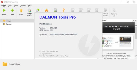 Daemon Tools Pro 8 key
