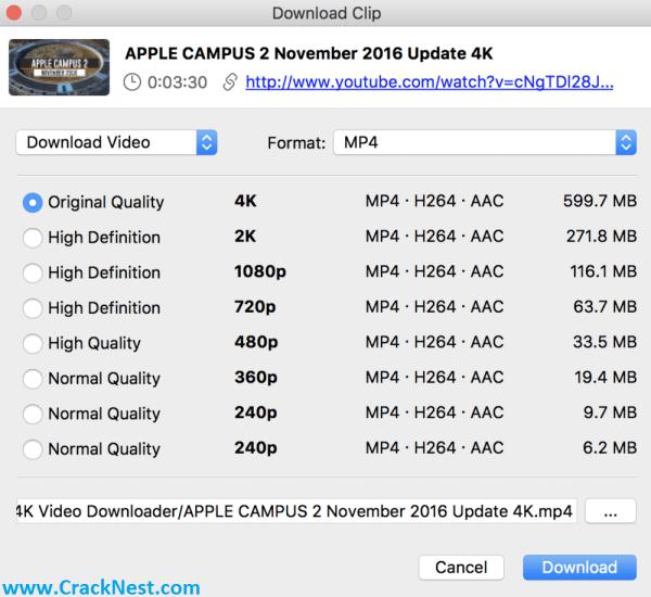 4K Video Downloader License Key Crack