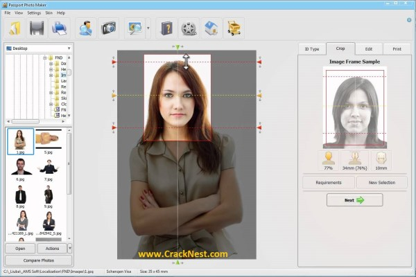 Passport Photo Maker Crack keygen