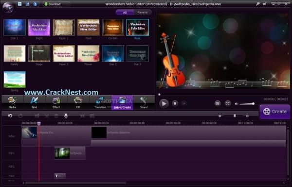 Wondershare Video Editor Crack Keygen