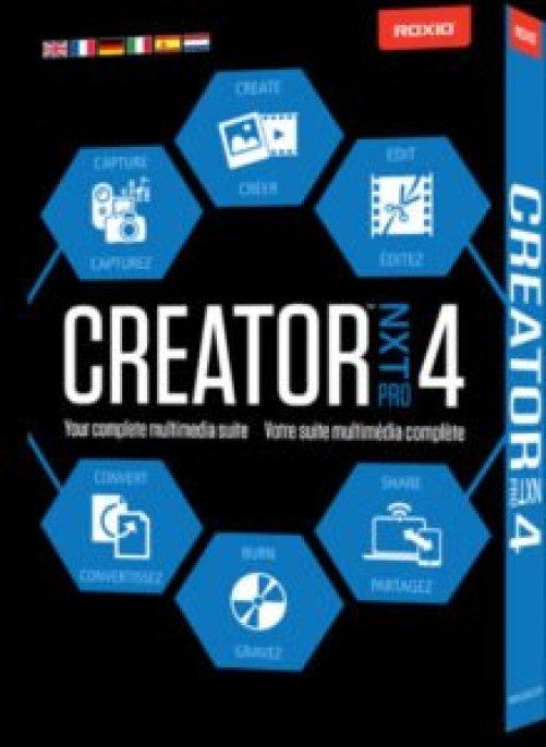 Roxio Creator Nxt Pro 4 crack