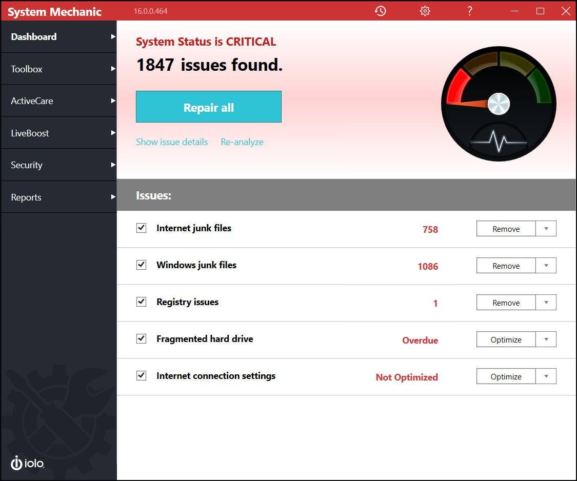 Iolo System Mechanic Pro V17 5 1 29 Crack Keygen Free