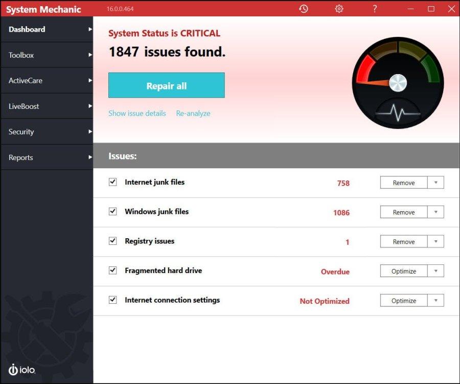Iolo System Mechanic Pro V17 5 1 43 Crack Keygen Free