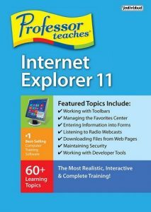 Professor Teaches Internet Explorer 11