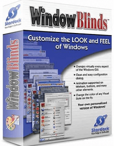 Stardock WindowBlinds License Keys with keygen