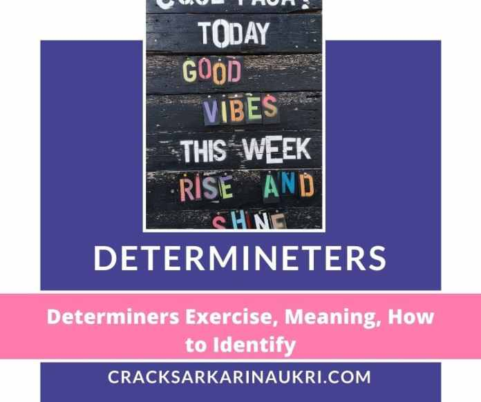 determiners and it's types
