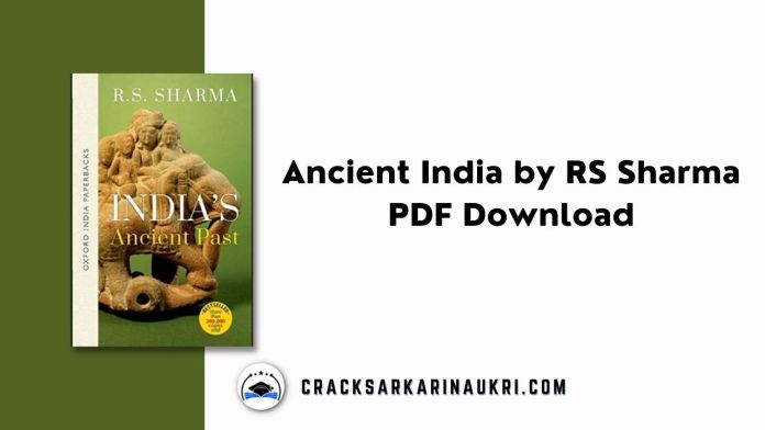 Ancient India by RS Sharma PDF Download