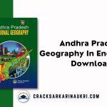 Andhra Pradesh Geography In English PDF Download