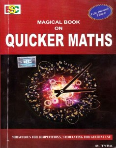 Magical Book On Quicker Maths PDF By M Tyra Download