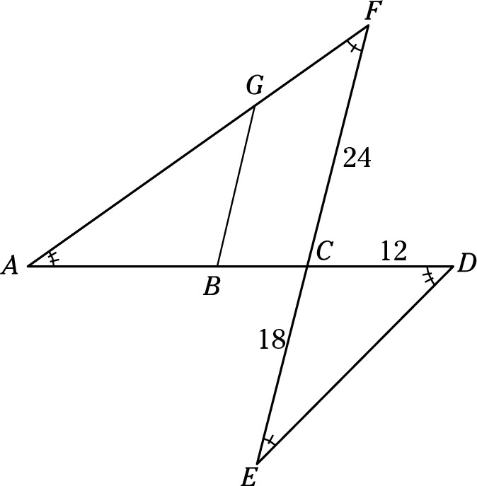 SAT Math Multiple Choice Practice Question 38: Answer and
